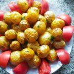 Запеченный молодой картофель - фото к пошаговому рецепту