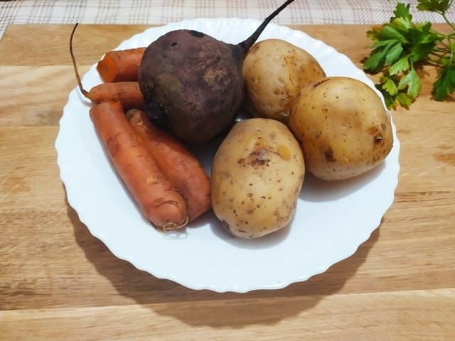 Овощи для шубы