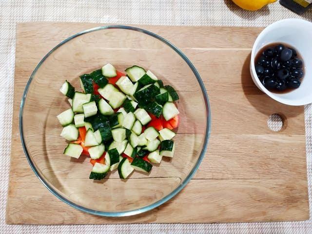 Огурцы в салате