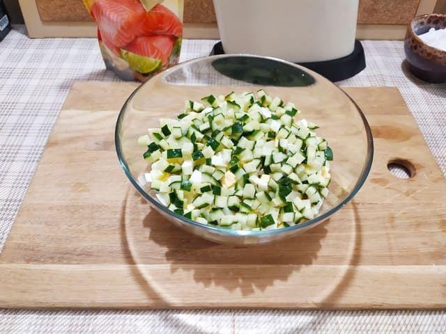 Огурцы для крабового салата