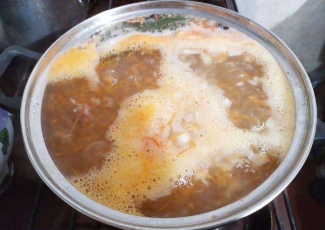 Варим рыбный суп