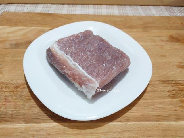 Промываем мясо