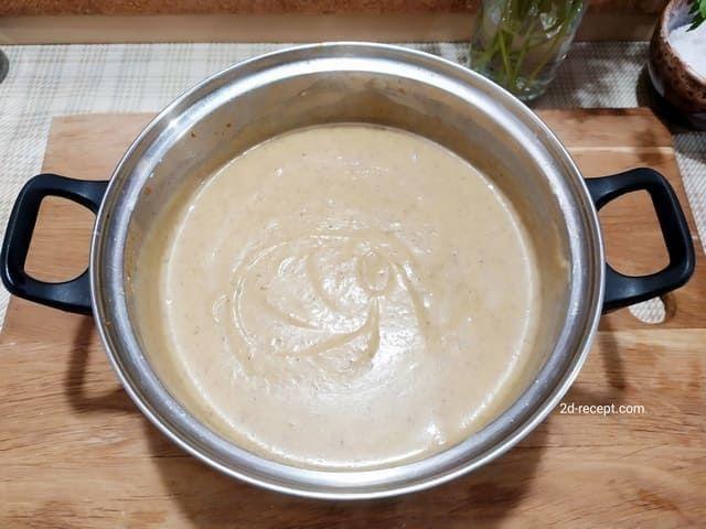 Грибной суп-пюре