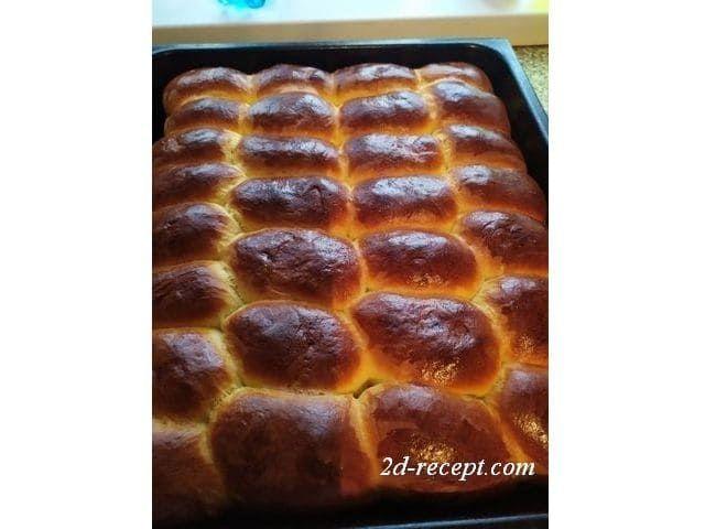 Сладкие пирожки из дрожжевого теста