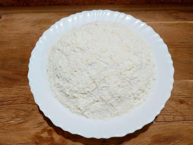 Слой белка в салате
