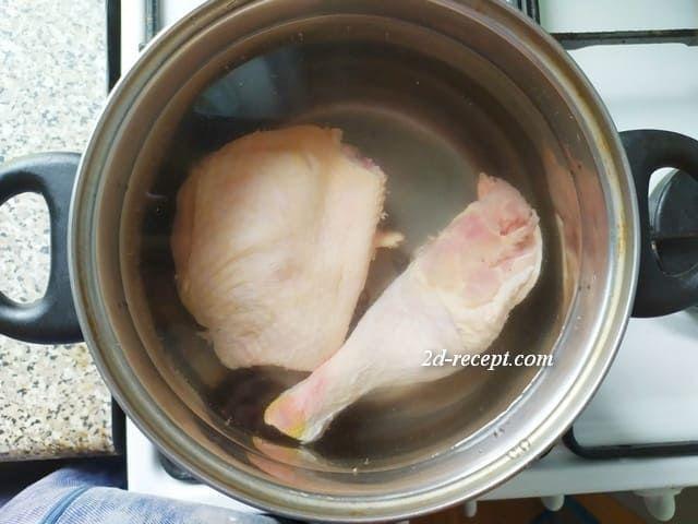 Варим курицу