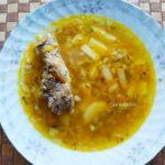 Рассольник с перловкой и солеными огурцами - фото к пошаговому рецепту