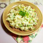 Салат с фасолью и грибами - фото к пошаговому рецепту