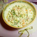 Салат с консервированной фасолью - фото к пошаговому рецепту