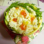 Салат с курицей, ананасом и картофелем - фото к пошаговому рецепту