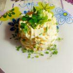 Салат с курицей, ананасами и сыром - фото к пошаговому рецепту