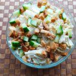 Салат с пекинской капустой и курицей - фото к пошаговому рецепту