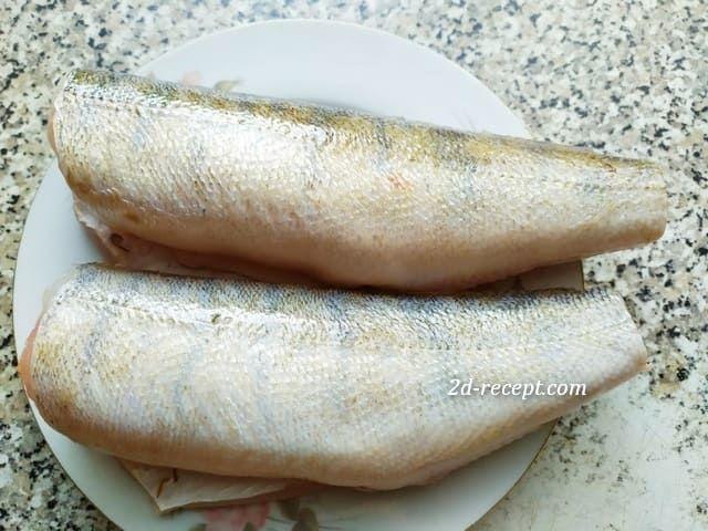 Рыба (судак) без головы и хвоста