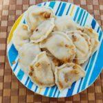 Заварное тесто для вареников или пельменей - фото к пошаговому рецепту