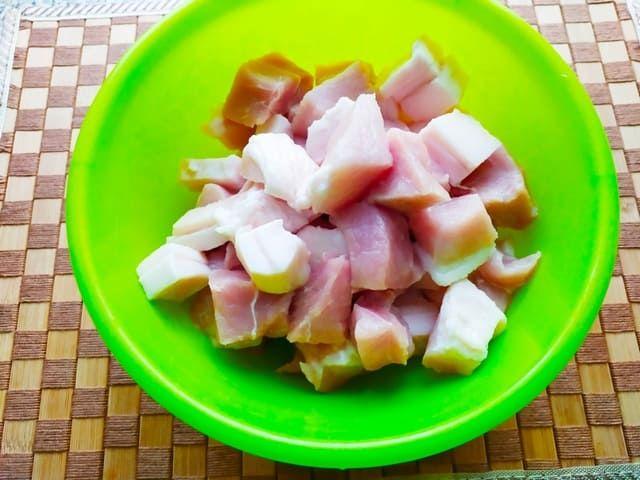 Жирная свинина