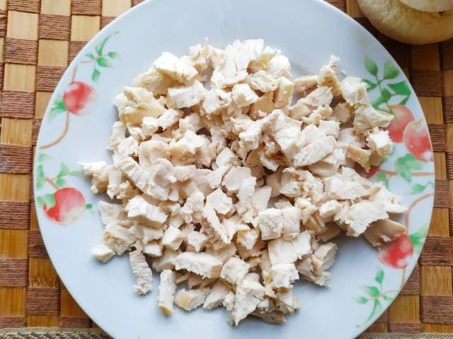 Куриное филе для грибов