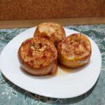 Печеные яблоки с медом - фото к пошаговому рецепту