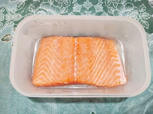 Засаливаем лосось