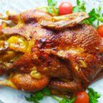 Утка с яблоками в духовке - фото к пошаговому рецепту