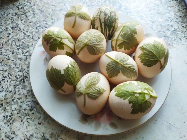 Яйца в капроне