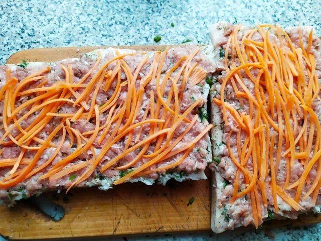 Начинка из моркови