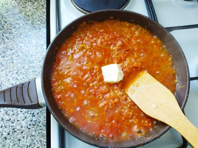 Соус для тефтелей с кабачками с маслом